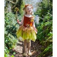 """Карнавальный костюм """"осенняя фея"""", возраст 6-8 лет, рост 116-128 см, Travis Designs"""