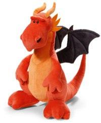 """Мягкая игрушка """"красный дракон"""" (30 см), NICI"""
