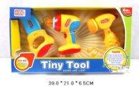 """Набор """"tiny tool"""": дрель, пила, молоток, Shantou Gepai"""