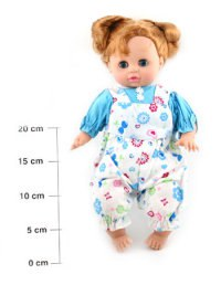 """Моя любимая кукла """"девочка в комбинезоне"""", 37 см, Play Smart (Joy Toy)"""