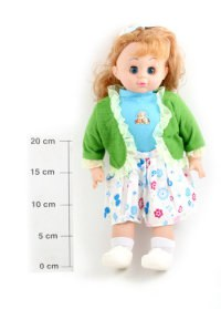 """Моя любимая кукла """"девочка в кофте"""", 41 см, Play Smart (Joy Toy)"""