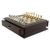 "Шахматы ""каспаров"", металлические фигуры, 24x24 см, Kasparov"