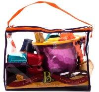 """Игровой набор для песка """""""", в сумке (красный), Battat"""