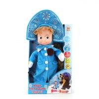 """Мягкая игрушка """"маша-снегурочка"""", 29 см, Мульти-Пульти"""