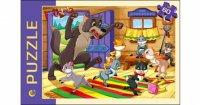 "Пазл ""волк и семеро козлят"", 60 элементов, Проф-Пресс"