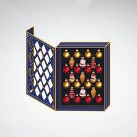 Набор украшений, 25 штук, красный/золотой, Mister Christmas