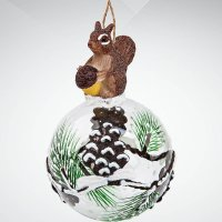 "Украшение ""белка"", 13 см, Mister Christmas"