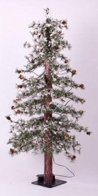 """Ель искусственная """"закарпатская заснеженная"""", 120 см, Crystal Trees"""