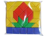 """Набор геометрических фигур """"клубничка"""", 31 элемент, Десятое королевство"""
