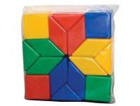 """Набор геометрических фигур """"мозаика"""", 16 элементов, Десятое королевство"""