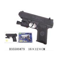 Пистолет пневматический с лазерный прицелом, с пульками, b35500479, Shantou Gepai