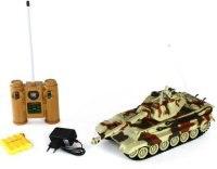 """Танк на радиоуправлении """"king tiger"""" (масштаб 1:28), Пламенный мотор"""