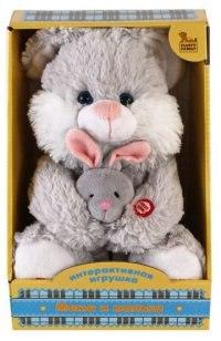"""Интерактивная игрушка """"мама и малыш. зайка"""", Fluffy Family"""