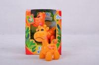 """Игрушка """"в мире животных. жираф"""" (желтый / оранжевый), 1 Toy"""