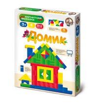 """Магнитная мозаика без игрового поля """"домик"""", 312 деталей, Десятое королевство"""
