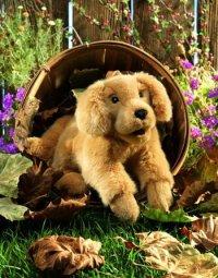 """Мягкая игрушка """"щенок золотого ретривера"""" (43 см), Folkmanis"""
