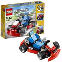 """Конструктор lego """"красный гоночный карт"""", LEGO (Лего)"""