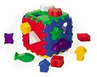 Логический куб большой, 12х12 см, Проф-Пресс