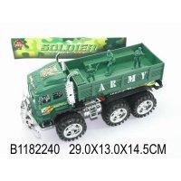 Военный грузовик, инерционный с солдатиками, Shantou Gepai