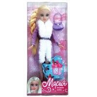 """Кукла """"мария. модная зима"""", 29 см, арт. 6521-ru, Карапуз (товары для детей и игрушки)"""