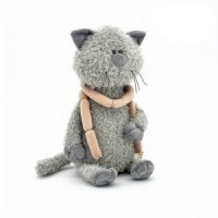 """Мягкая игрушка """"кот обормот с сосисками"""", 45 см, Orange exclusive"""
