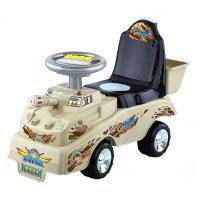 """Каталка """"боевая машина"""" (цвет: серый), Toysmax"""
