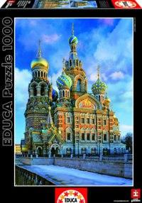 """Пазл """"храм спас на крови, санкт-петербург"""" (1000 деталей), Educa"""