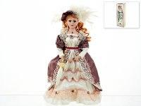 "Кукла декоративная, фарфоровая ""анастасия"" 13x7,5x36,5 см, ArtHouse"