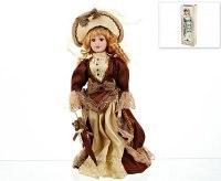 """Кукла декоративная, фарфоровая """"елизавета"""" 13x7,5x36,5 см, ArtHouse"""