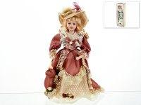 "Кукла декоративная, фарфоровая ""людмила"" 13x7,5x36,5 см, ArtHouse"