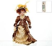"Кукла декоративная, фарфоровая ""ирина"" 13x7,5x36,5 см, ArtHouse"