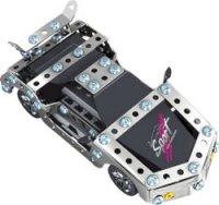"""Металлический конструктор """"гоночный автомобиль"""", на радиоуправлении (133 детали), Roys"""