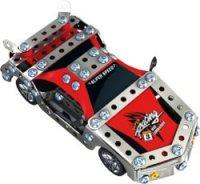"""Металлический конструктор """"гоночный автомобиль"""", на радиоуправлении (116 деталей), Roys"""