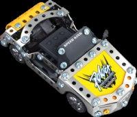 """Металлический конструктор """"гоночный автомобиль"""", на радиоуправлении (101 деталь), Roys"""