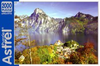 "Пазл ""австрия. озеро в горах"", 2000 элементов, Astrel"