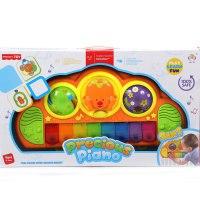 """Игровой центр """"мое первое пианино"""" с креплением на кроватку, Jia le toys"""