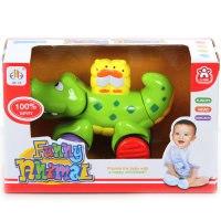 "Развивающая игрушка-каталка ""крокодильчик"", Jia le toys"