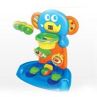 """Развивающая игрушка """"меткий слон"""" с баскетбольным кольцом + электронным дисплей, Jia le toys"""