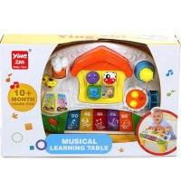 """Развивающая игрушка столик с пианино """"мои первые животные"""", Jia le toys"""