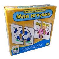 "Пазл ""мои игрушки"" (15 пазлов из 2-х элементов), Learning Journey"