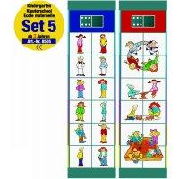 """Обучающая система флокардс """"набор заданий 5. детский сад от 3 лет"""", Magnetspiele"""