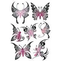 "Наклейки ""tattoos. ажурные бабочки"", Herma"