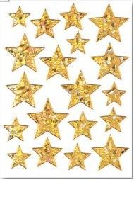 """Наклейки """"новый год. звезды"""", Herma"""