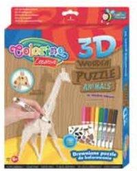 """Пазл 3d """"жираф"""", Colorino"""
