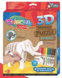 "Пазл 3d ""слон"", Colorino"