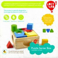 Занимательная коробка. деревянная игрушка для развития ребенка, Lucy & Leo