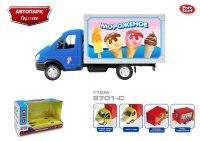 """Инерционная машина """"автопарк. мороженое"""", Play Smart (Joy Toy)"""