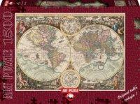 "Пазл ""карта мира"", 1500 элементов, Heidi"