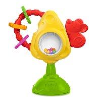 """Развивающая игрушка для стульчика """"мышка с сыром крекерами"""", Chicco"""