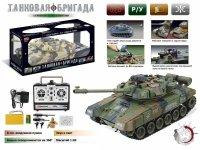 """Танк """"zhorya т90"""" на радиоуправлении с аккумулятором, стреляющий, 54х55х24,5 см, Solmar Pte Ltd"""